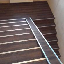 konečná fáze schodiště